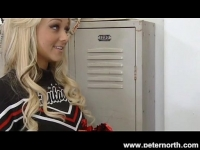 Perú Cheerleader briana blair locker room fuck and facial putas gratis