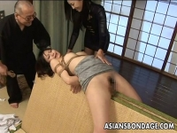 Porno gratis Tied up asian babe gets spanked and dildo fucked amateur peruano
